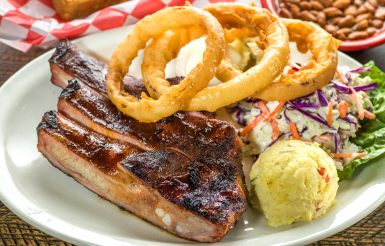 Dyer's BBQ Entrees