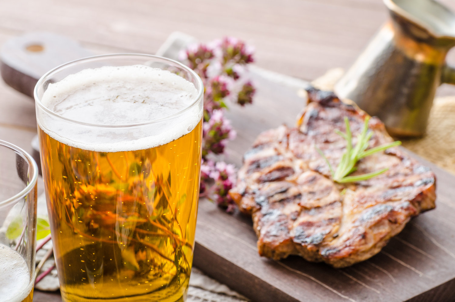 beer to drink with ribeye