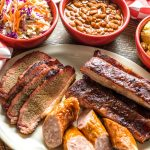 texas bbq with sides