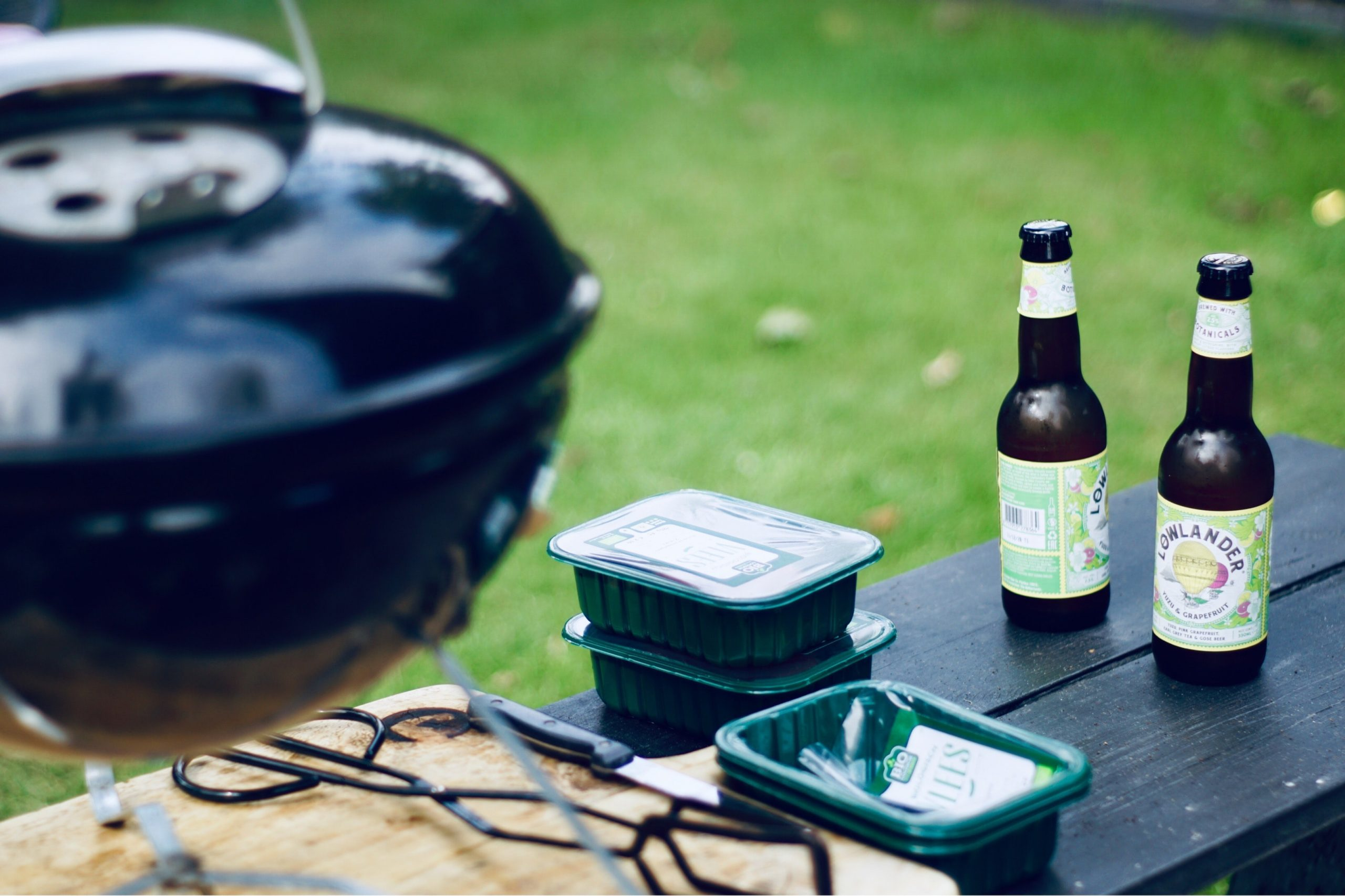grilling and bbq with beer